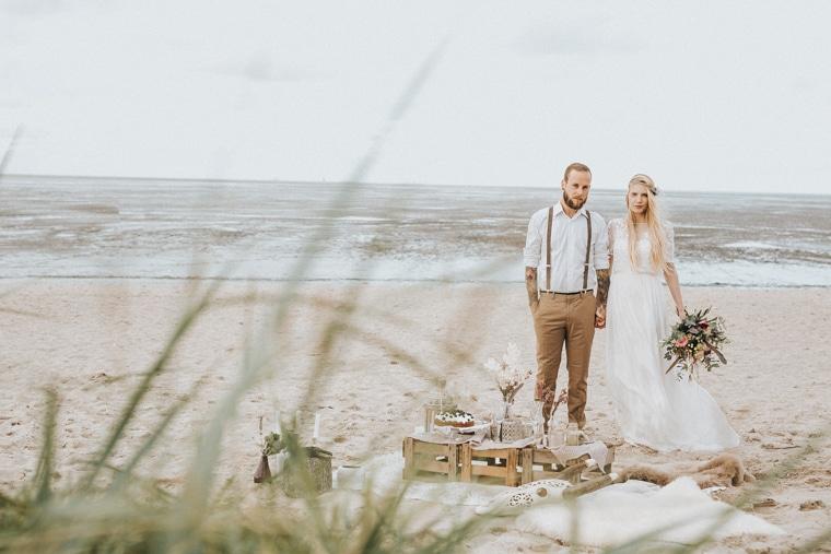 Heiraten an der Nordsee Leuchtturm Hochzeitszeremonie