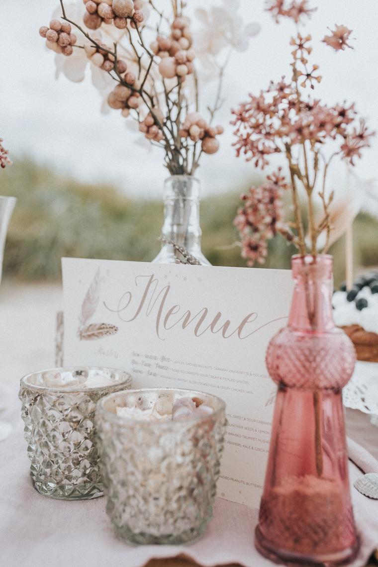 Heiraten an der Nordsee Küstenregion Hochzeit Blumen