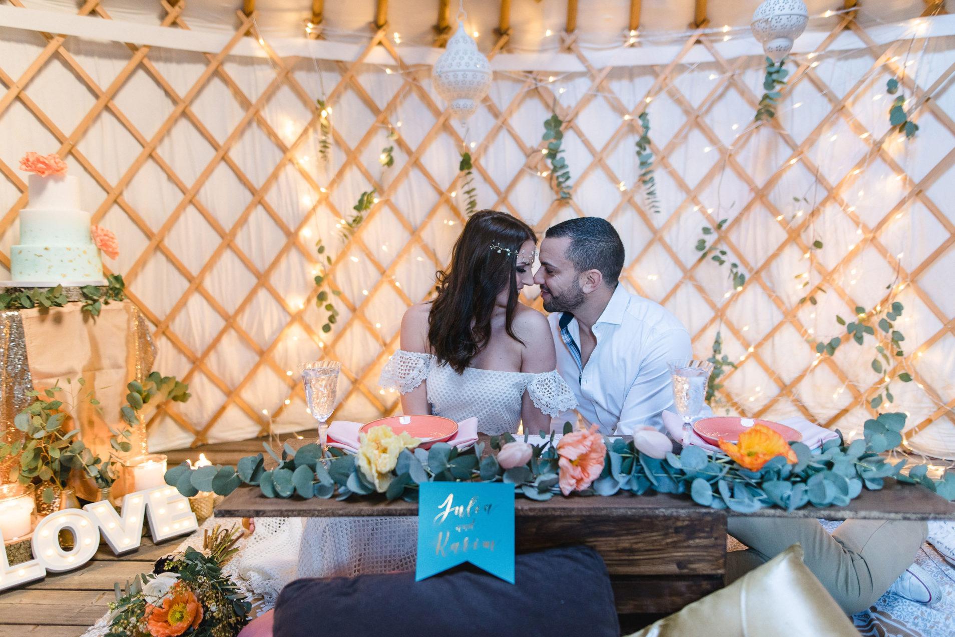 Winter Hochzeit Planung Orientalisch